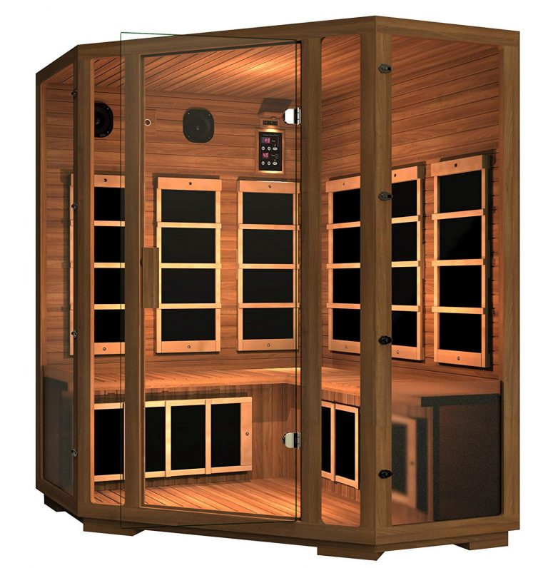 what is the best infrared sauna for home use?