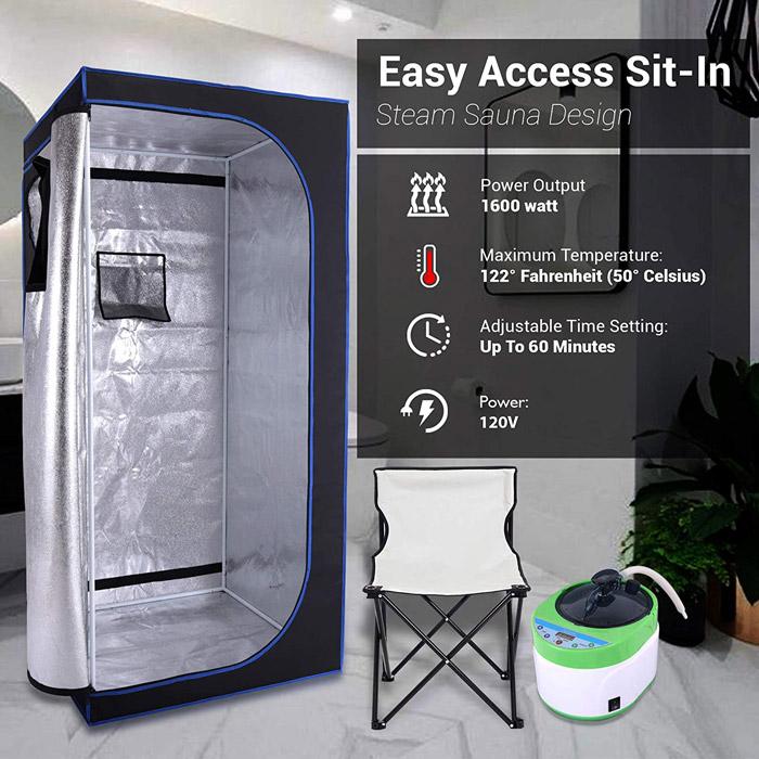 Best Portable Steam Sauna