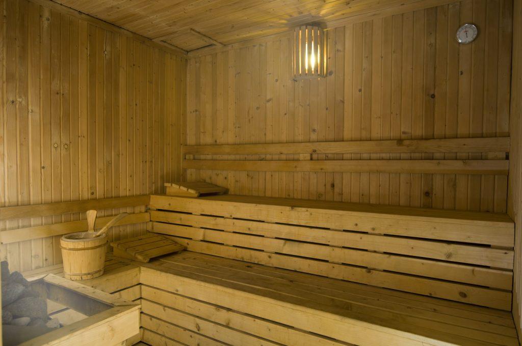 gym sauna